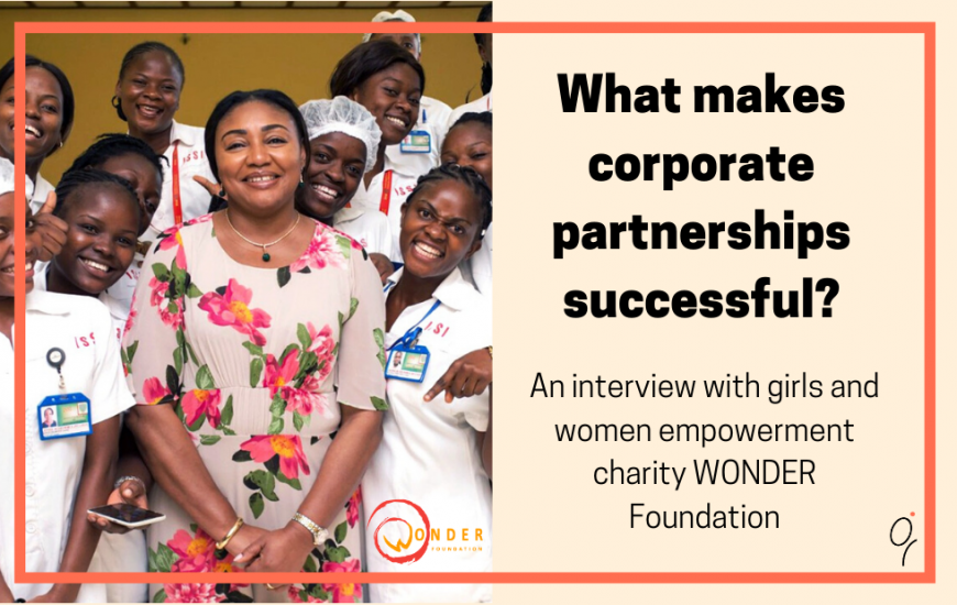 What makes corporate partnerships successful