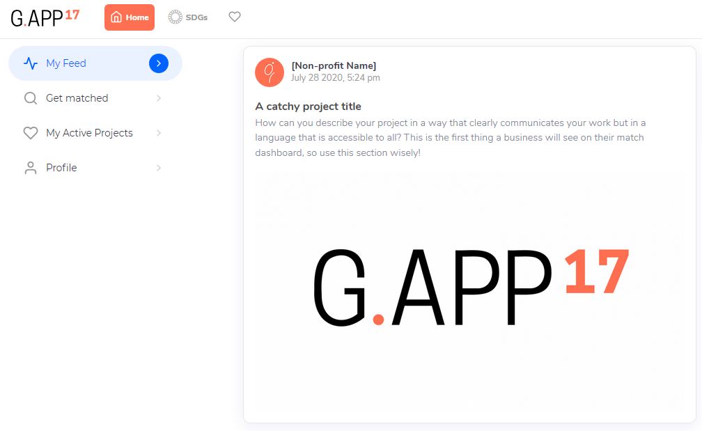 G.APP17 profile overview